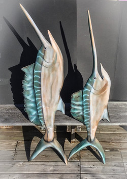 Sord Fish R side 60'' tall