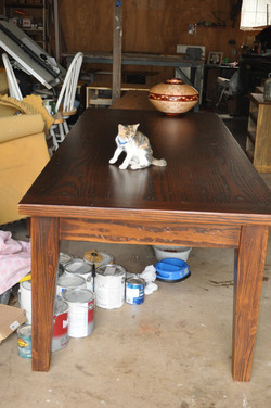 Yellow Pine Shaker Table