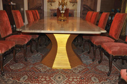 Segmented Dinning room table stands ( Legs )