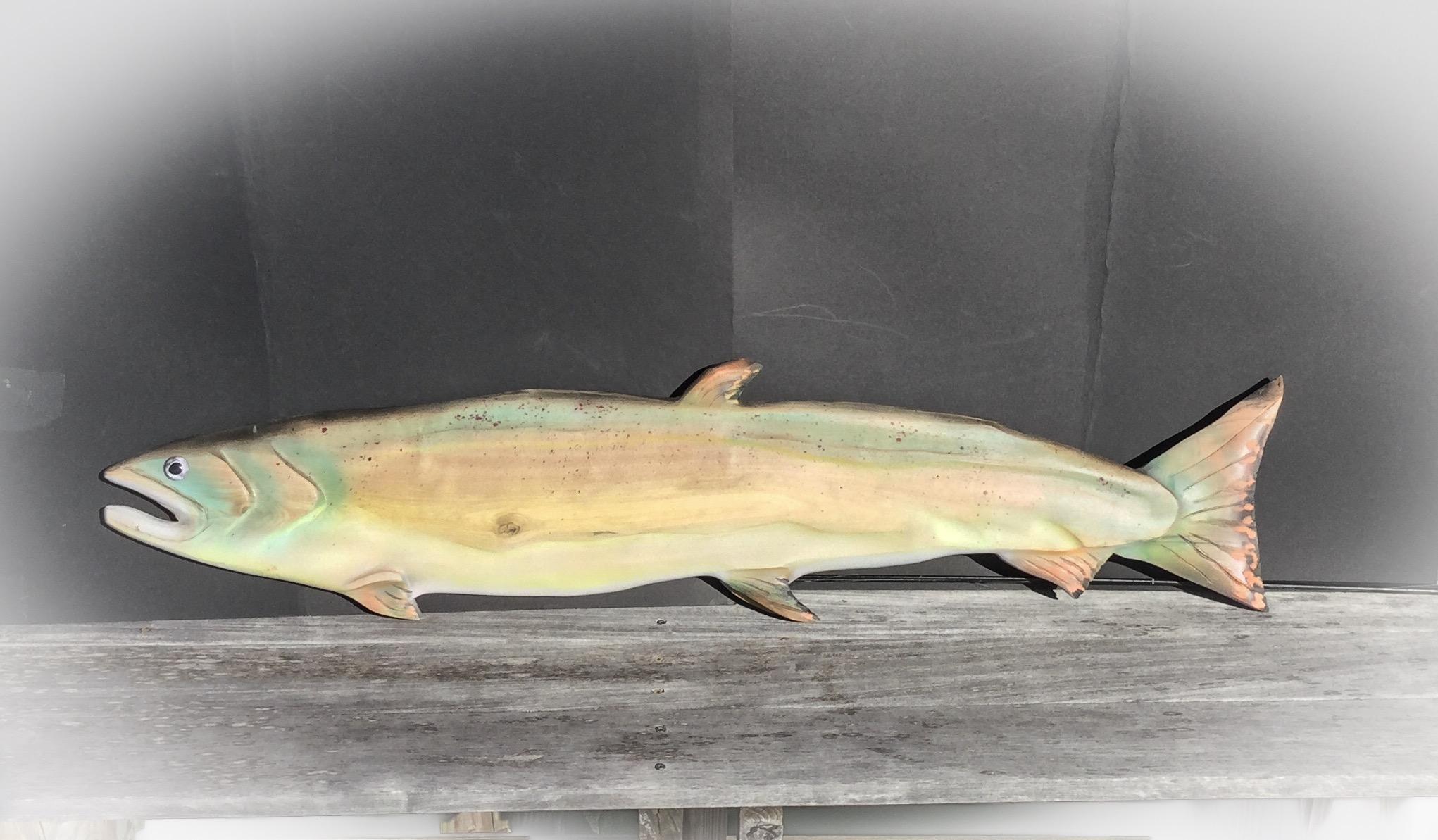 trout L side 36''long