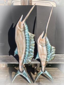 Sord fish L side 60' tall