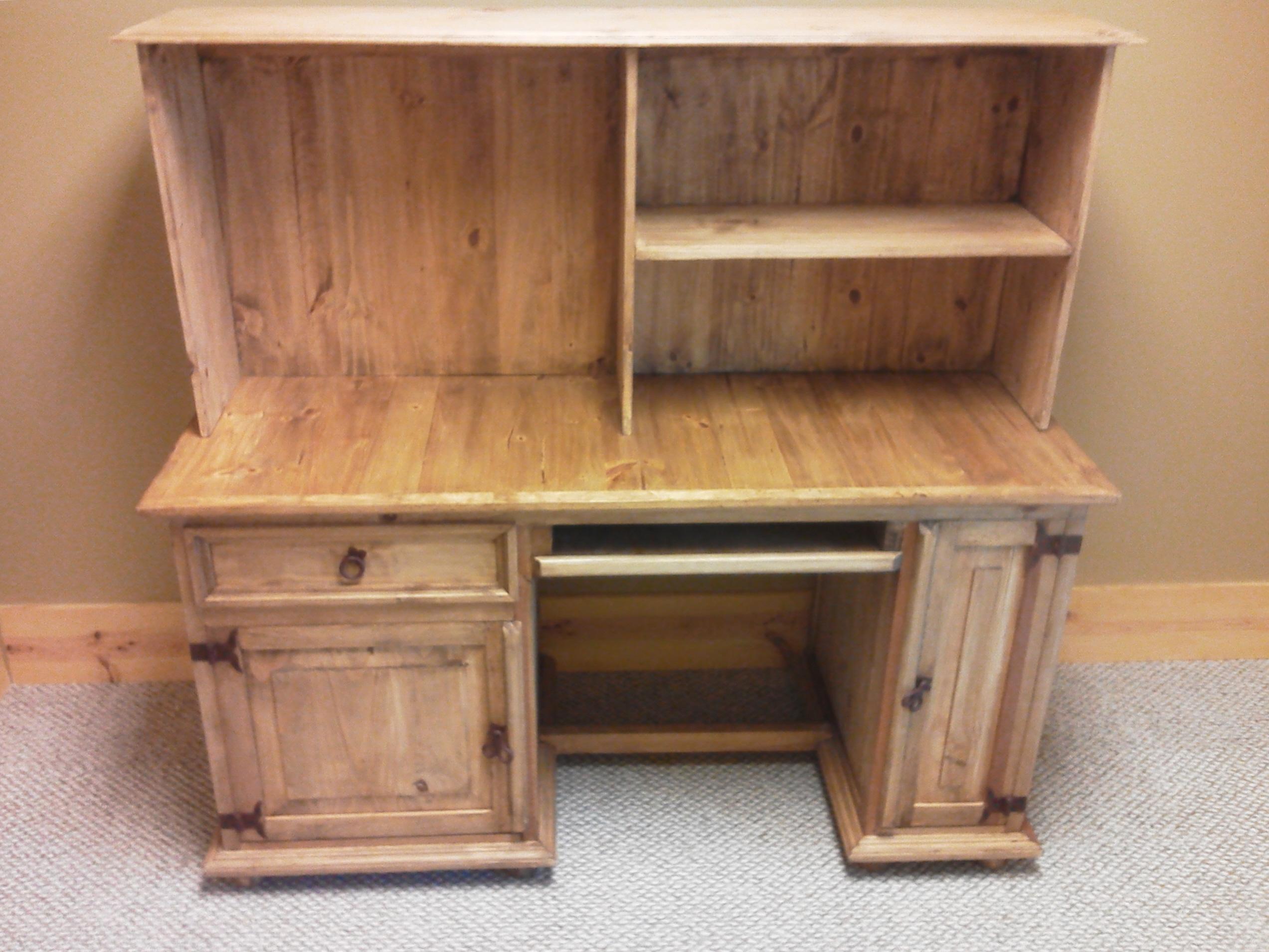 Rustic Pine Desk