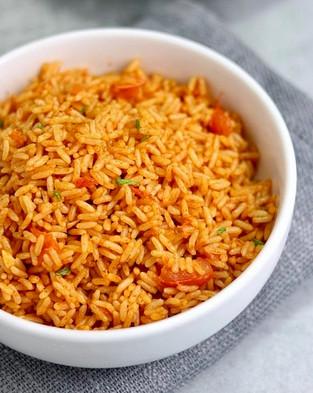 [pressure cooker] Spanish rice