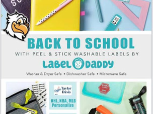 Still need labels for school supplies?