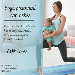 yogs con bebes