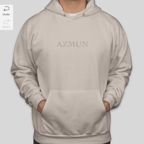 AZMUN Beige Hoodie