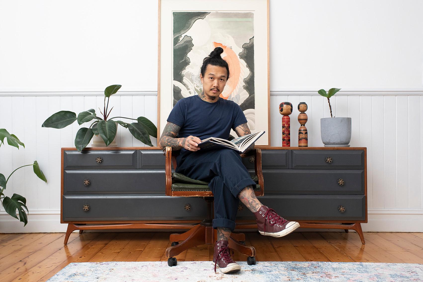 Yoshio Honjo for Frankie Magazine