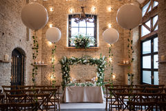 Ceremony Room Styling - Photography by Lucy Noble