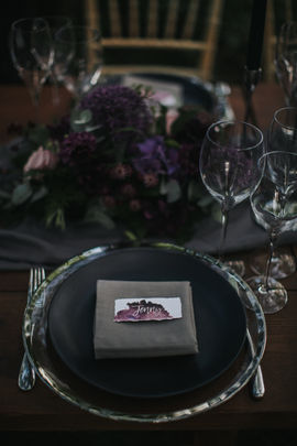 Place Setting Close Up - Photography by MT Studio