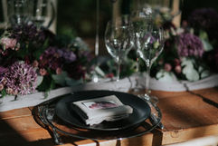 Full Place Setting - Photography by MT Studio