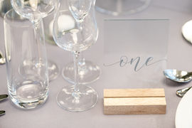 Table Number - Photography by Sarah Vivienne