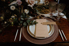 Place Setting - Photography by Sharron Gibson