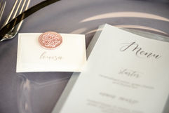 Table Stationery - Photography by Sarah Vivienne