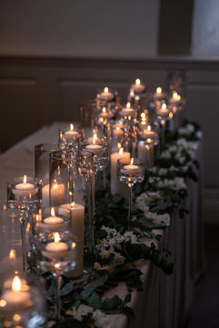 Candle Styling - Photography by Lucy Noble