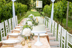 Long Vineyard Table Shoot - Photography by Purple Rose Photography