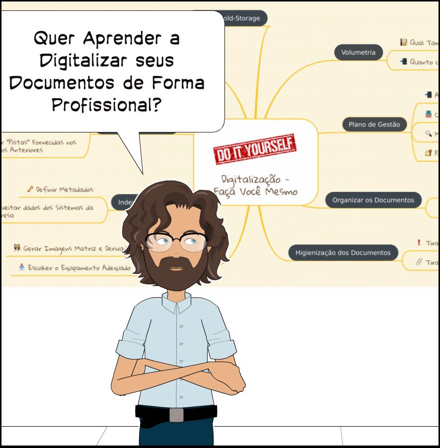 Faça Você Mesmo a Digitalização de Seus Documentos