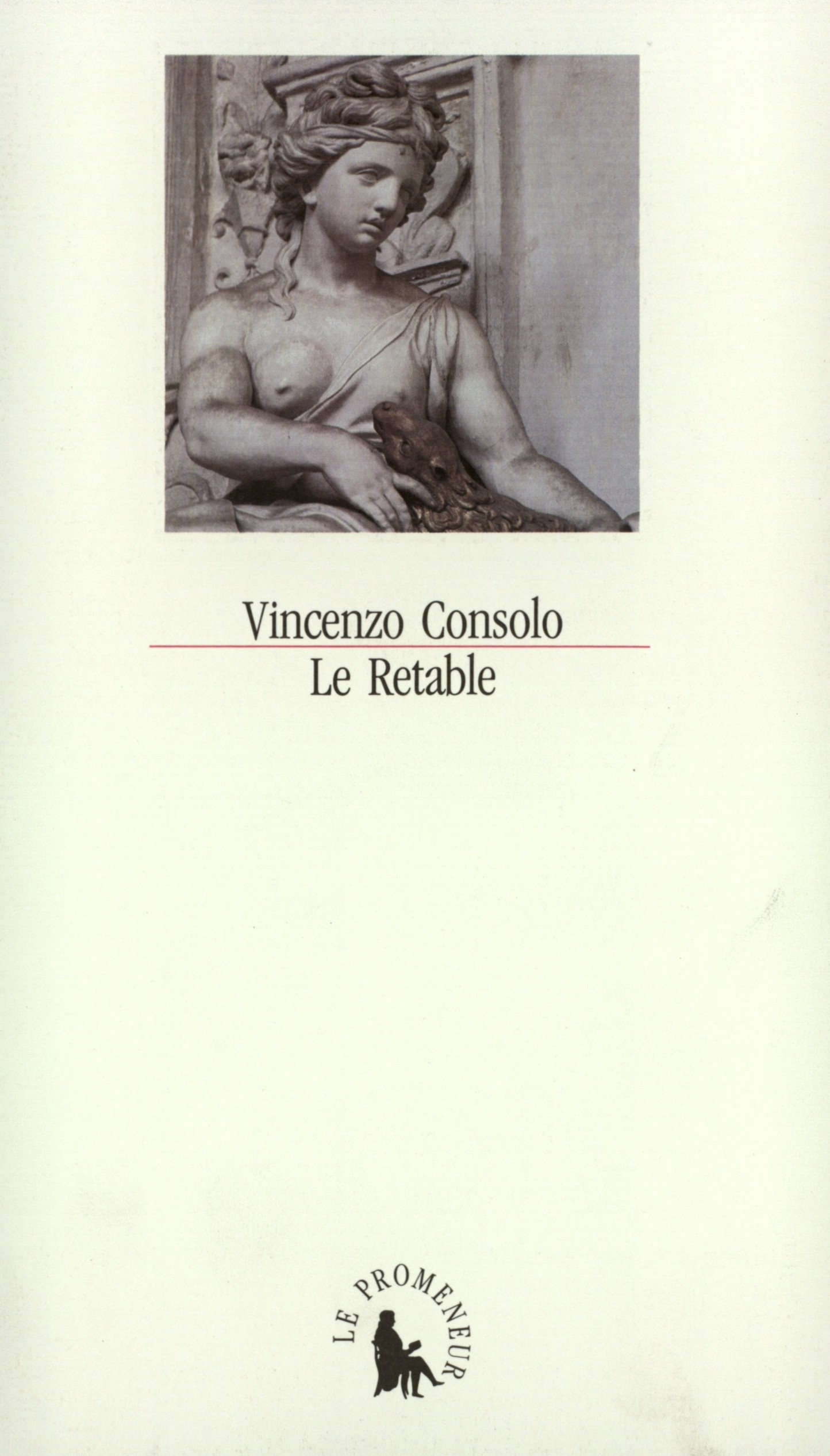 livre : vincenzo consolo, le retable