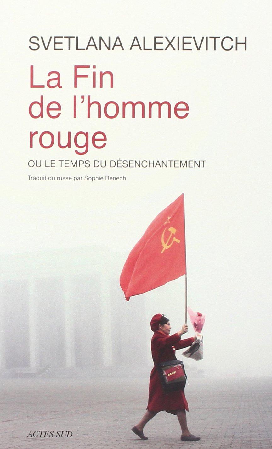 livre : la fin de l'homme rouge