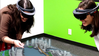 Town Planner (Microsoft Hololens App)