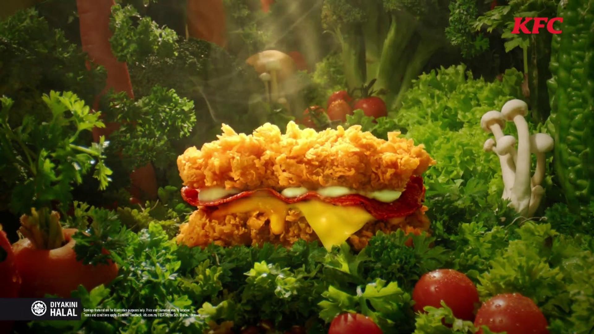 KFC - Zinger Double Down