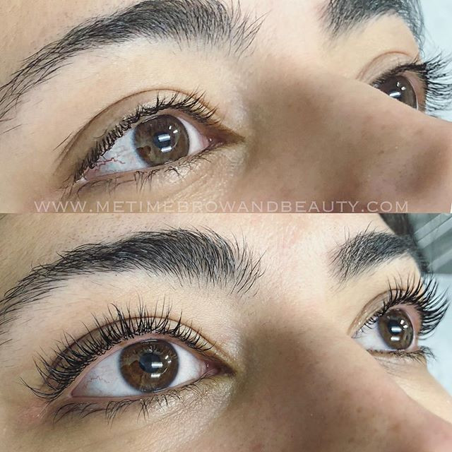 Friday lash lift + tint on these gorgeou