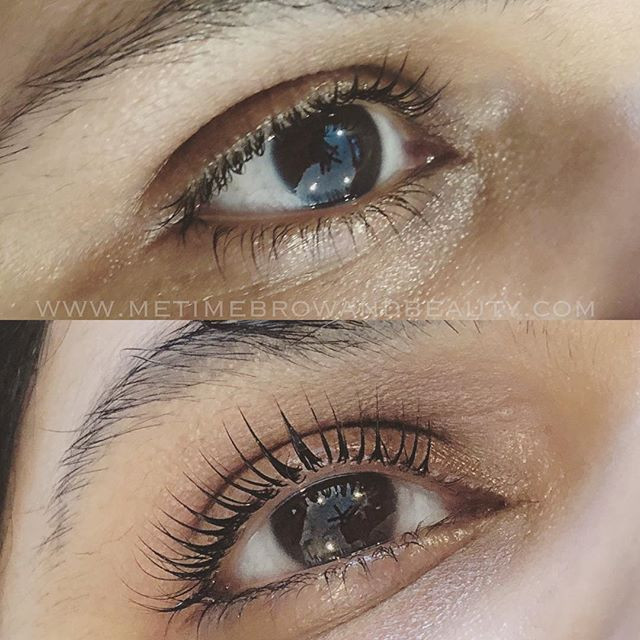 Lash lift and tint ✨ for _drcardamom 's