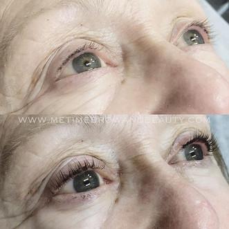 Today's transformation- bye bye mascara