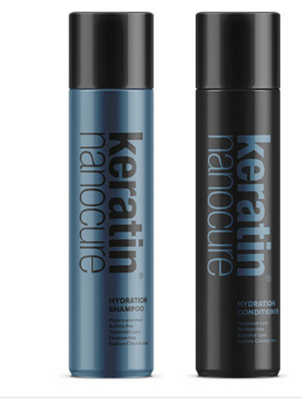 New nanocurekeratin hydration shampoo & conditioner 500ml