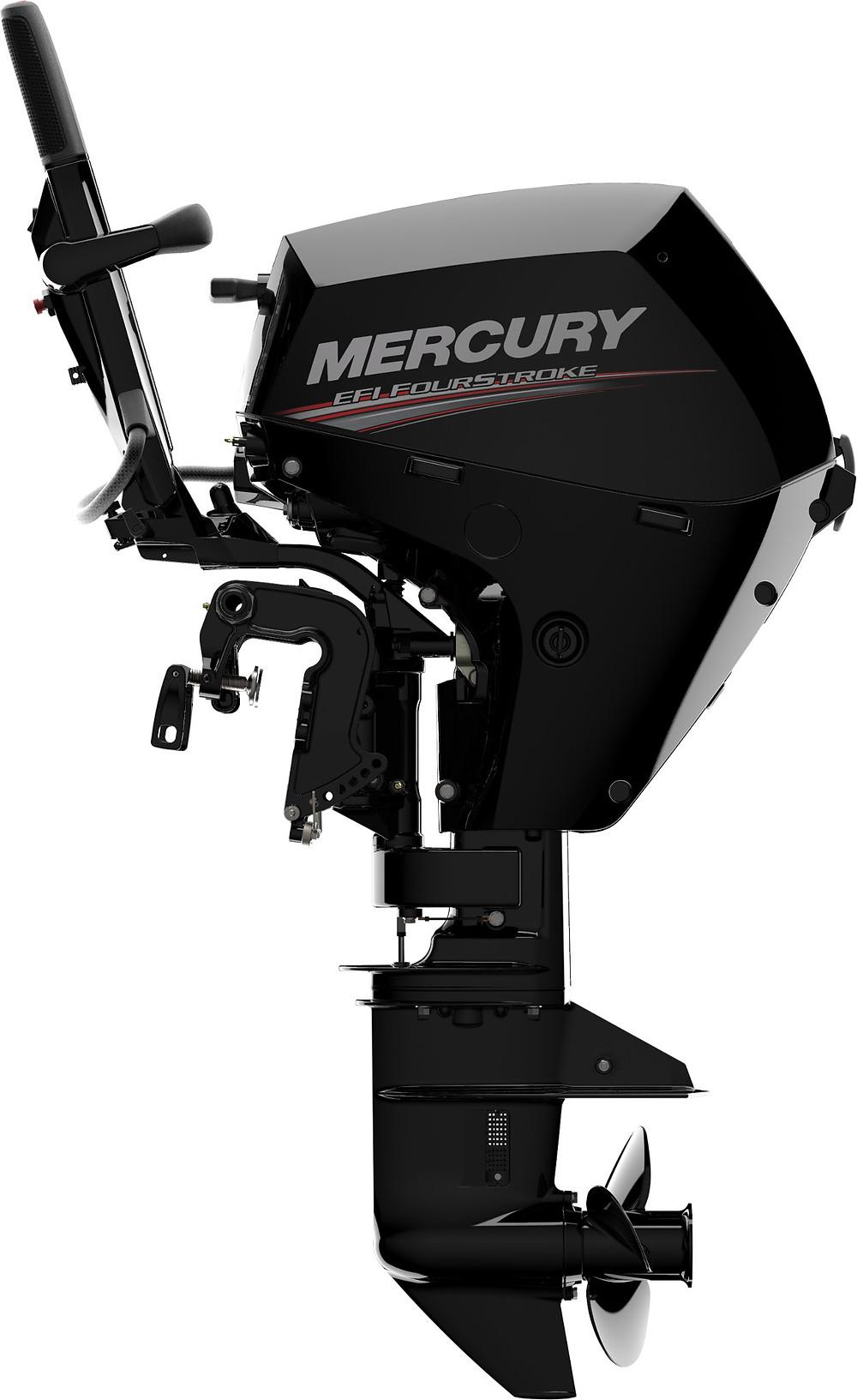 τετράχρονος κινητήρας mercury 15 ίππων