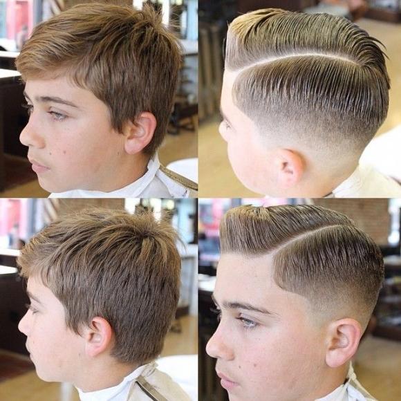 Παιδικό κούρεμα Manos Hair