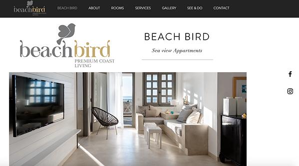 beach bird webpage happy life affiliates