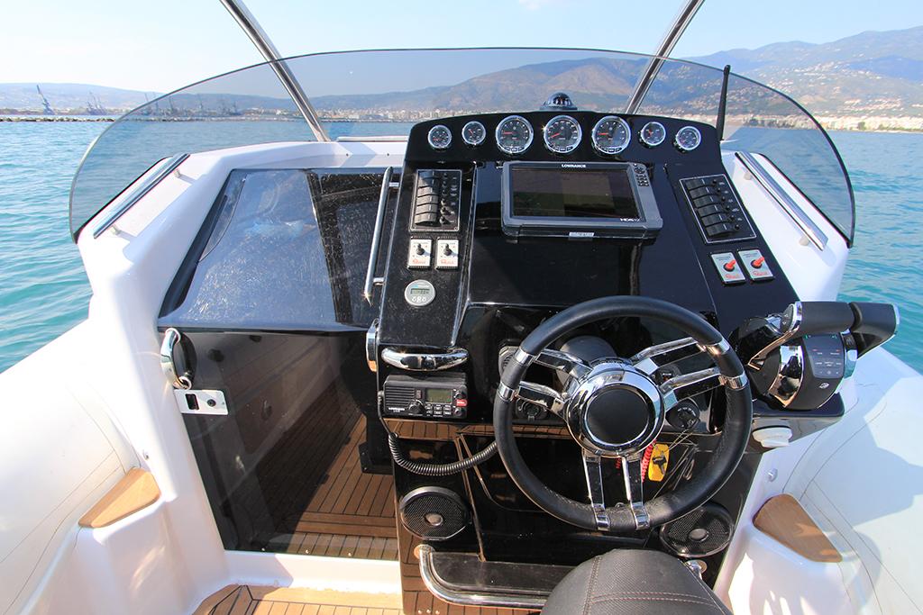 seafighter 36 τιμόνι