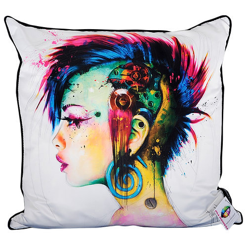 Patrice Murciano Cyber Punk Feather Filled Cushion