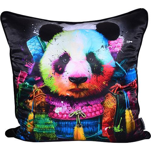 Patrice Murciano Panda Samurai Feather Filled Cushion