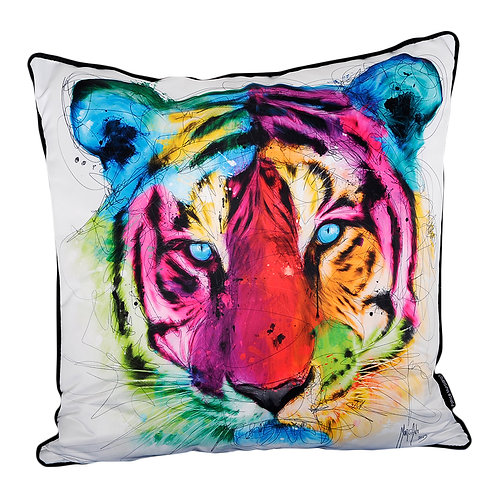 Patrice Murciano Tiger Feather Filled Cushion