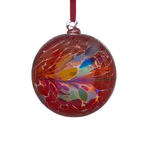 Friendship Ball 10cm - Primary Red