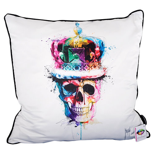 Patrice Murciano God Save The Queen Feather Filled Cushion