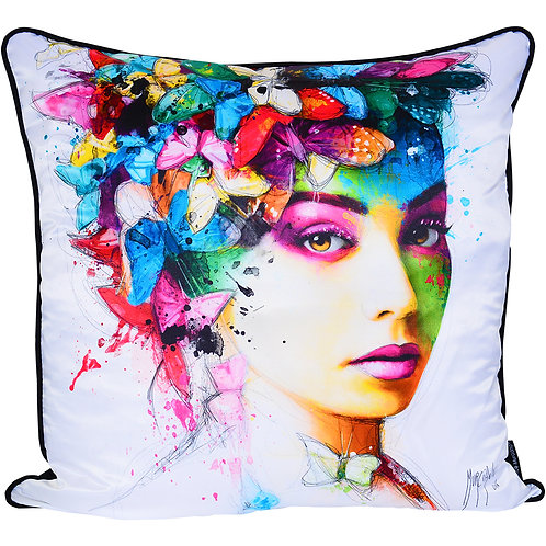 Patrice Murciano L'Effet Papillon Feather Filled Cushion