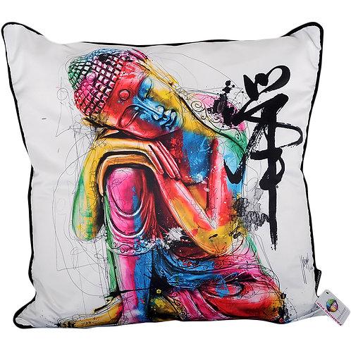 Patrice Murciano Buddha Feng Shui Feather Filled Cushion