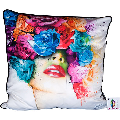 Patrice Murciano Roses Feather Filled Cushions