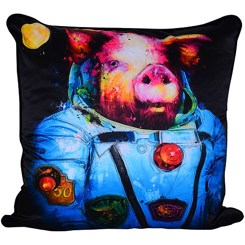 Patrice Murciano Pig in Space Feather Filled Cushion