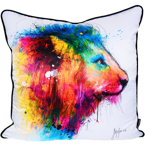 Patrice Murciano Lion Feather Filled Cushion