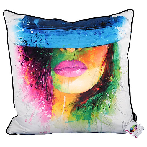 Patrice Murciano Coco Chapeau Feather Filled Cushion