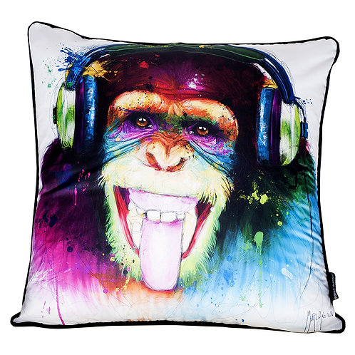 Patrice Murciano Monkey HD Feather Filled Cushion