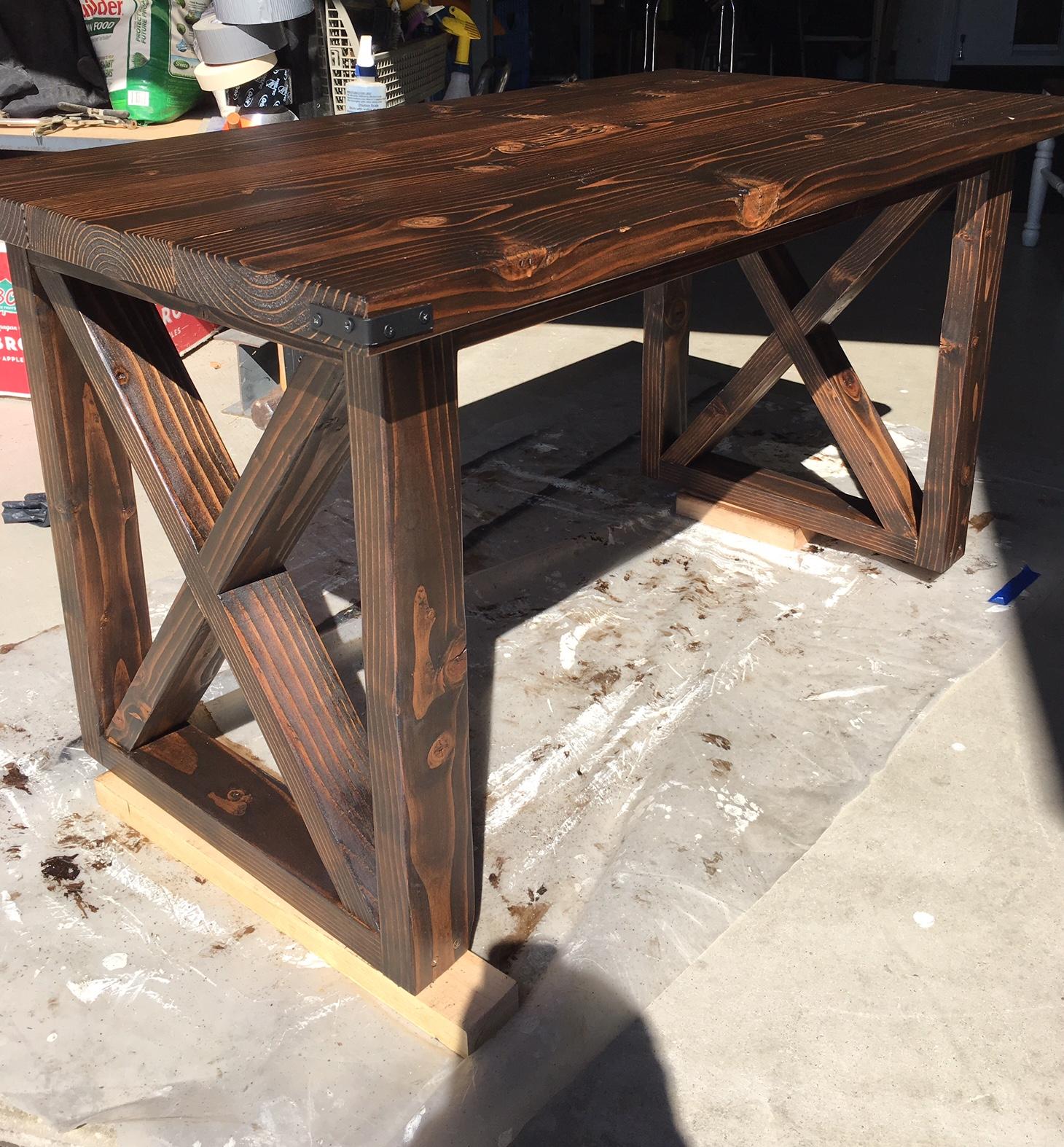 Custom Farm Style Table