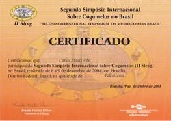 Certificado II Sicog