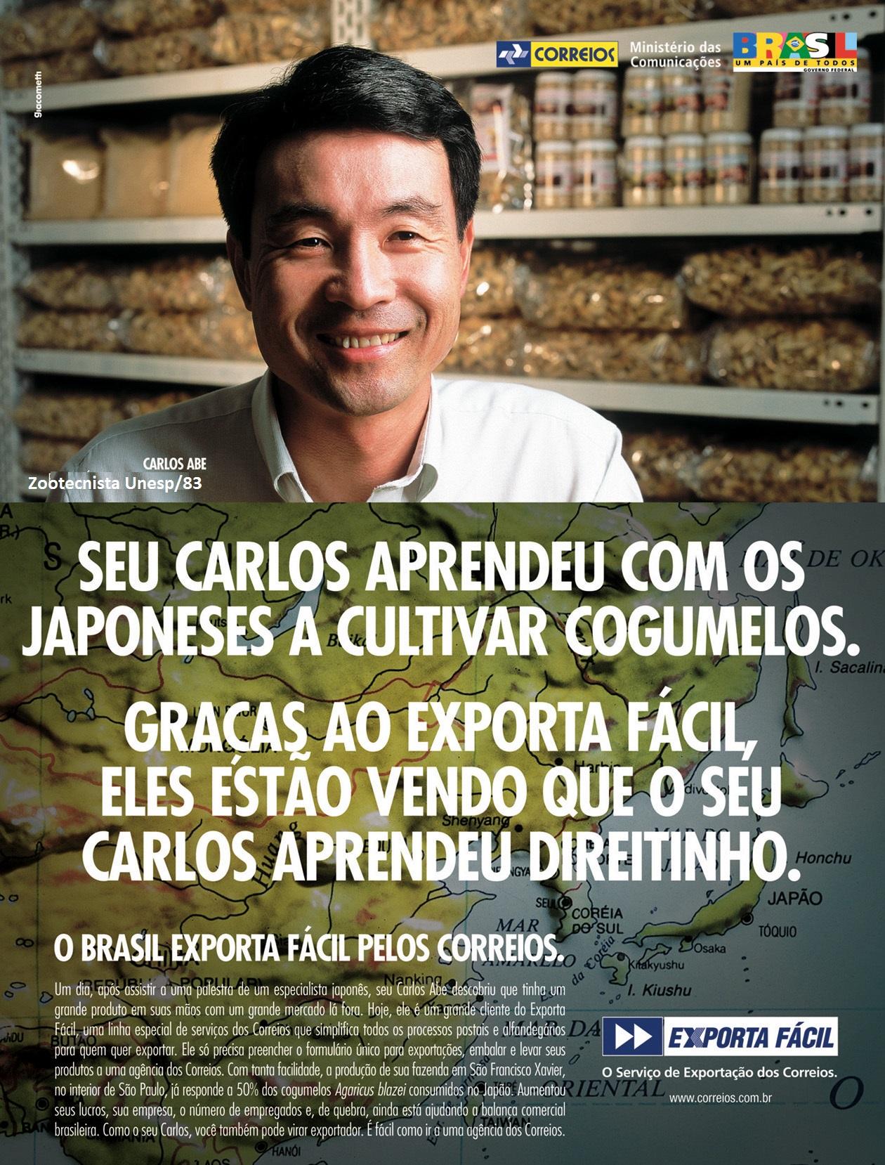 Campanha ExportaFácil Correios 2004