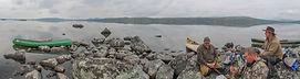 Lake Rogen, Sweden, Canoeing