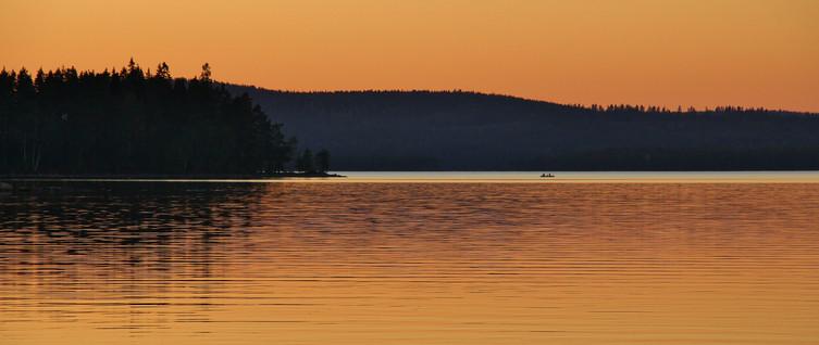 Glaskogen sunset
