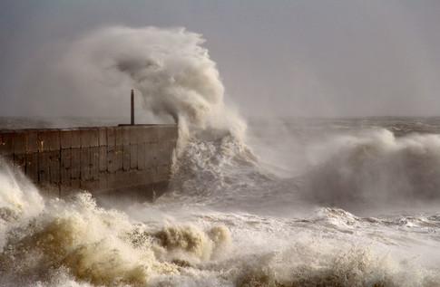 Shoreham Harbour, Storm Imogen